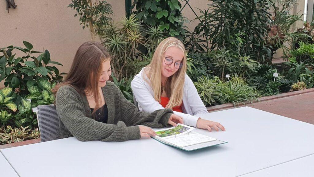 Pflanzen lernen im Greenhouse