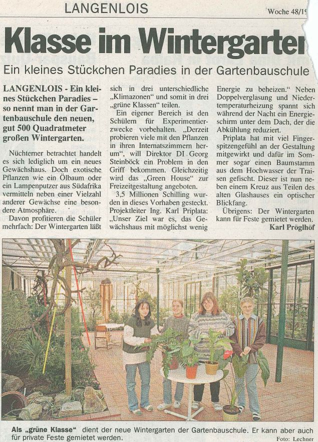 1997 Eröffnung Greenhouse1